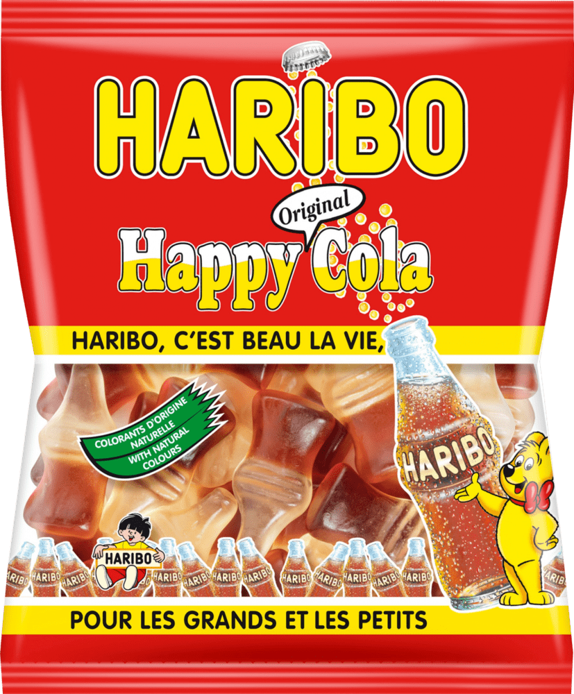 happy cola haribo