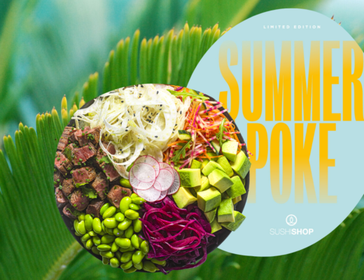 Sushi Shop dévoile son Summer Poke